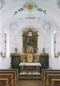 Guthirten Kapelle, Innenansicht (Bild 12)