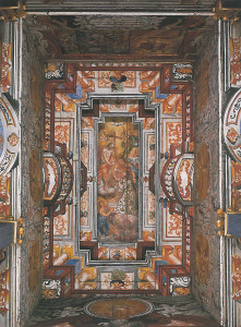 Guthirten Kapelle, Vorhalle Deckenansicht (Bild 13)
