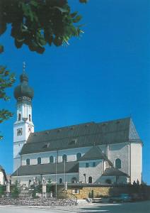 Pfarrkirche Obertrum am See, Aussenansicht