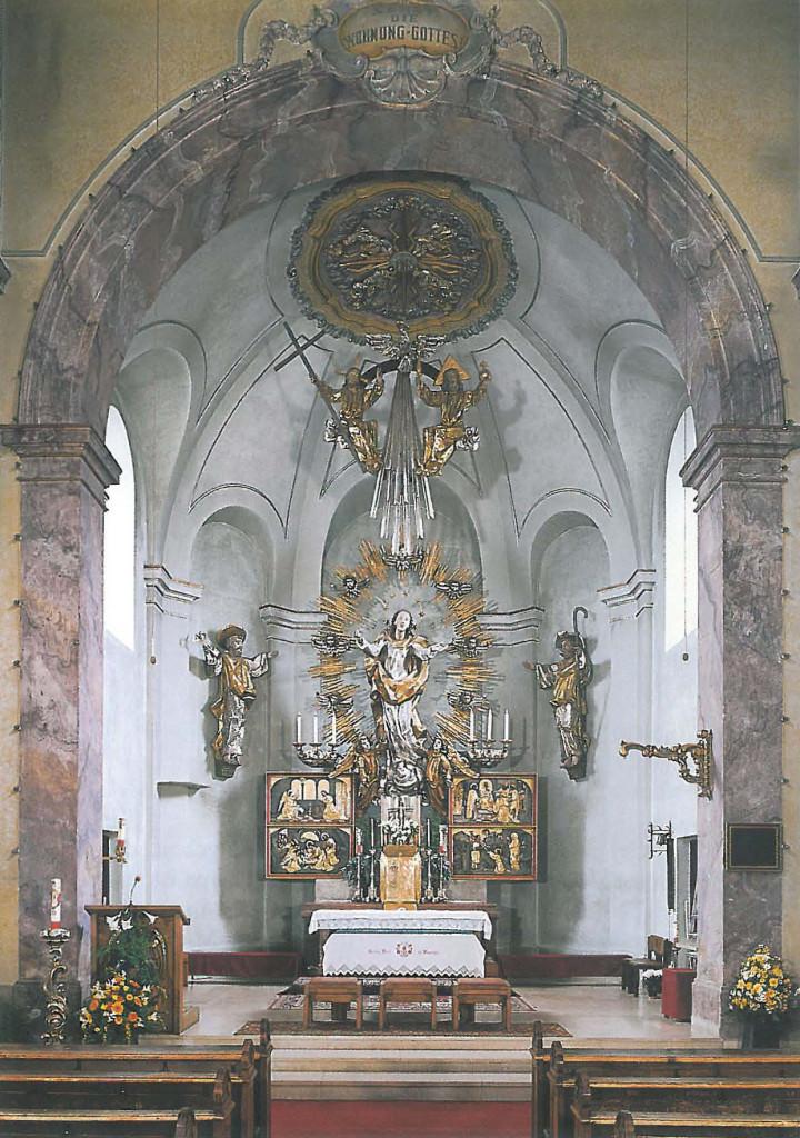 Pfarrkirche Obertrum, Hochaltar