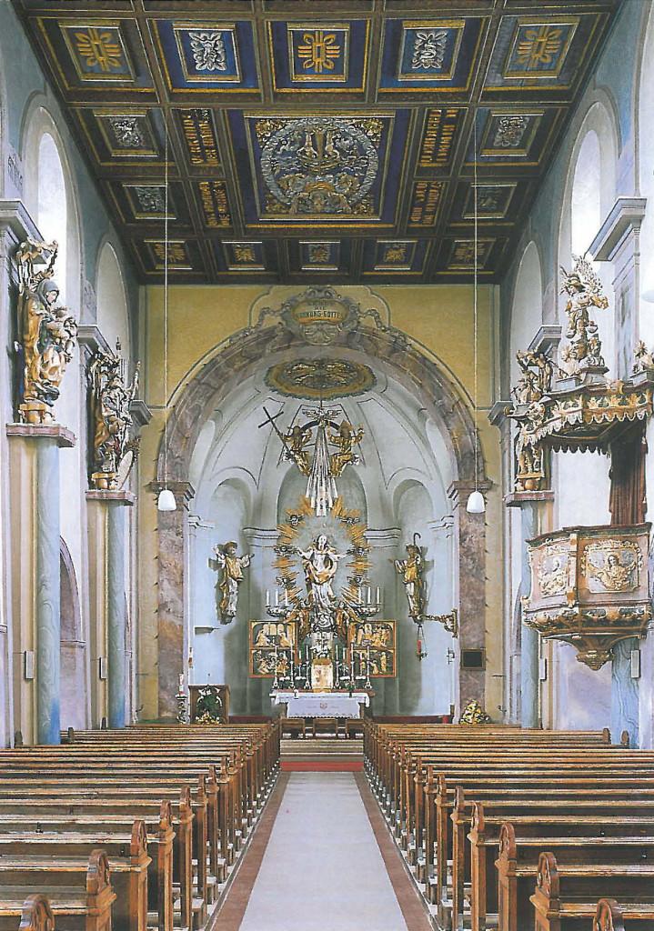 Pfarrkirche Obertrum Innenraum