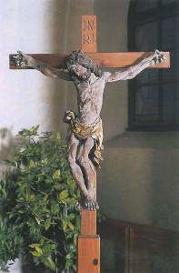 Pfarrkirche Obertrum, Vortragkurzifix