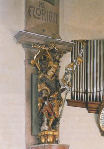 Pfarrkirche Obertrum, Hl. Florian