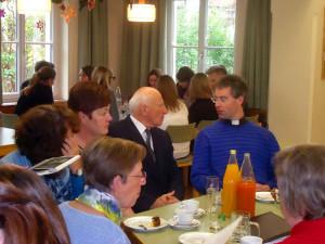 40 Jahre Jungschar Obertrum – Pfarrer Josef Messner und Pfarrer Christoph Eder