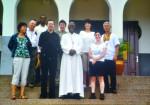 Die Reisegruppe aus Michaelbeuern bei den Steyler Missionaren in Asesewa in Ghana